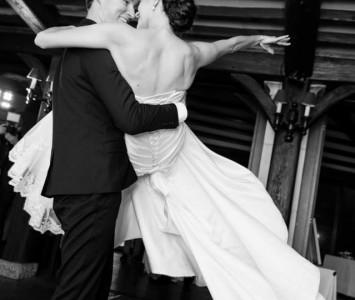 Stephanie and Matthew dance 1