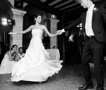 Stephanie and Matthew dance 2